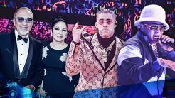 Emilio y Gloria Estefan, Bad Bunny y Daddy Yankee fueron algunos de los...