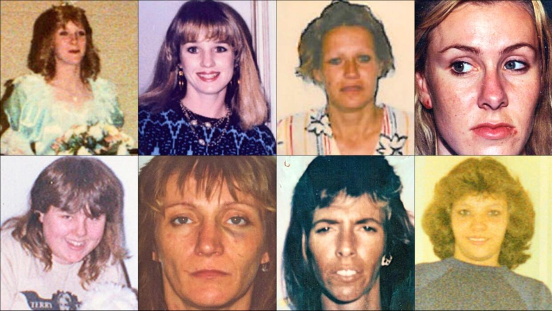 Las víctimas del asesino serial Andrew Urdiales.