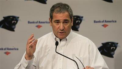 Dave Gettleman de los Panthers es la cara de los gerentes que respirarán...