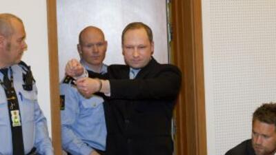 Anders Behring Breivik no ha demostrado arrepentimiento alguno por los a...