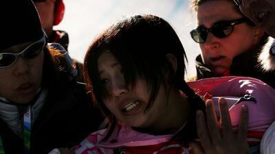 En la imagen aparece la japonesa Melo Imai, quien compitió en la discipl...
