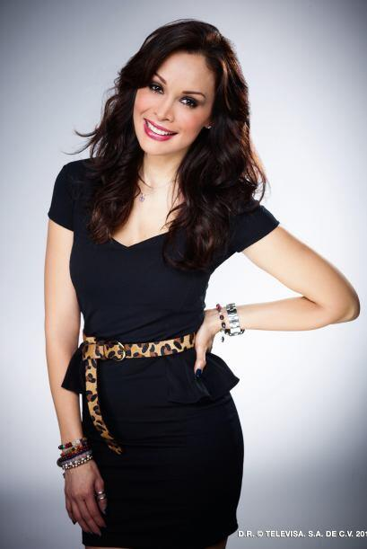 "Tania Vázquez inició su carrera como concursante de ""Nuestra Belleza Méx..."