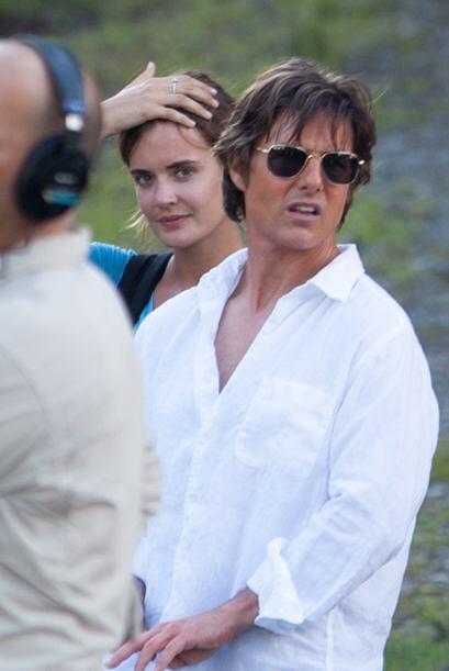 Por un momento pensamos que Tom Cruise y Katie Holmes habían regresado.