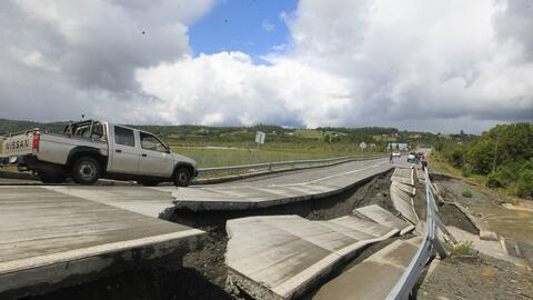 Chiloé, la zona de Chile más afectada tras terremoto de magnitud 7,7 en...