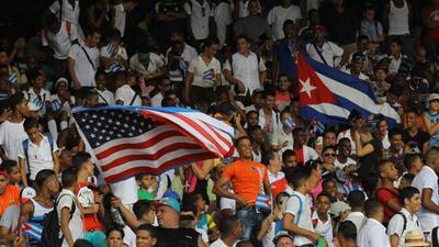 Estados Unidos y Cuba en La Habana: un partido amistoso bajo la bandera del fútbol