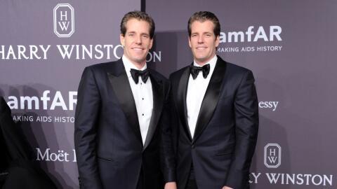 Los hermanos Cameron y Tyler Winklevoss multiplicaron su fortuna en un n...