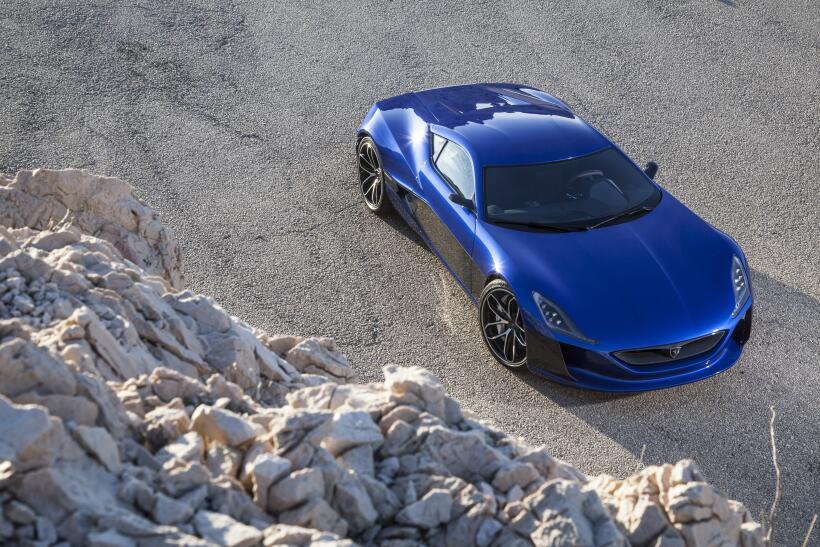 Motor Show Ginebra 2018: Rimac C_Two, el hypercar eléctrico con casi 2,0...