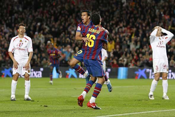 Pero Pedro devolvió la ventaja al Barcelona. Los culés necesitaron poco...