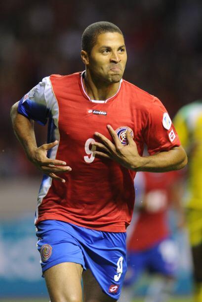 Alvaro Saborío (Costa Rica): El delantero del Real Salt Lake, ser...