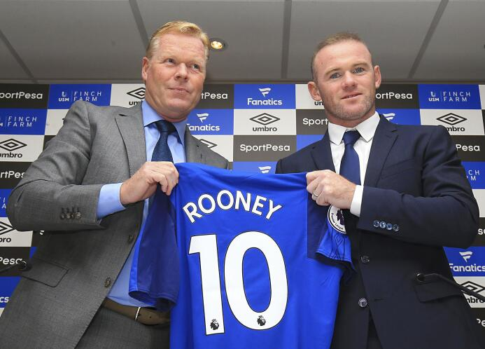 Wayne Rooney concretó su regreso al Everton, equipo de sus amores, tras...