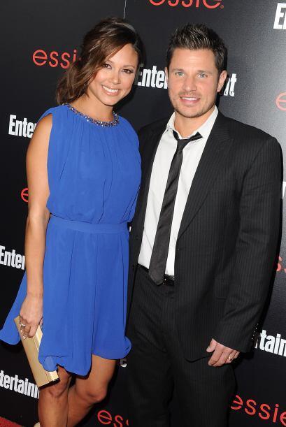 Vanessa ahora está casada con el cantante Nick Lachey.  Mira aquí los vi...