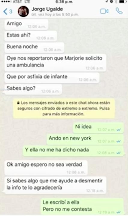 """Julián Gil llega México dispuesto a defenderse de Marjorie de Sousa: """"No..."""