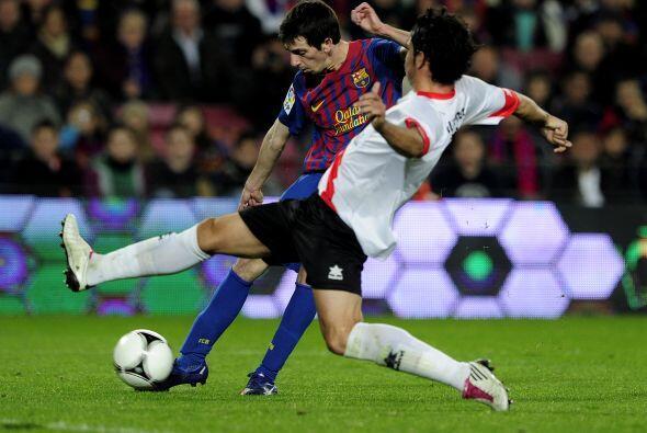 Barcelona jugaba como si estuviera aún sin goles, más allá del resultado...