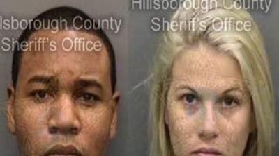 Immanuel y Cara Lee Williams detenidos en el condado Hillsborough acusad...