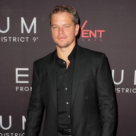 Matt Damon es fiel a sus Patriotas.