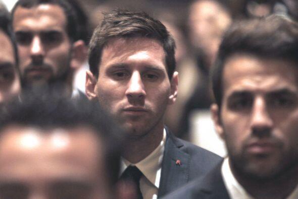 Los jugadores del Barcelona le dieron el último adiós al que fuera su en...