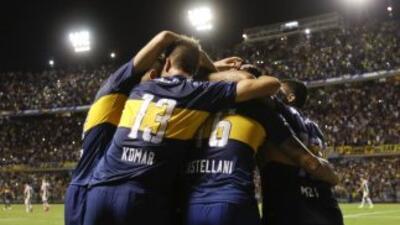 Los Xeneizes han sido el mejor equipo de la fase de grupos de la Copa Li...