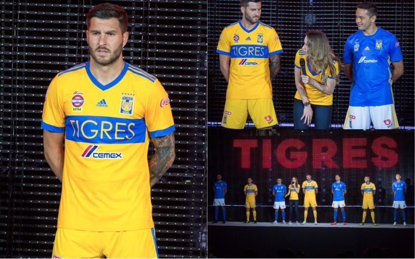 Chivas y Cruz Azul presentan uniformes elegantes para el Apertura 2017 T...