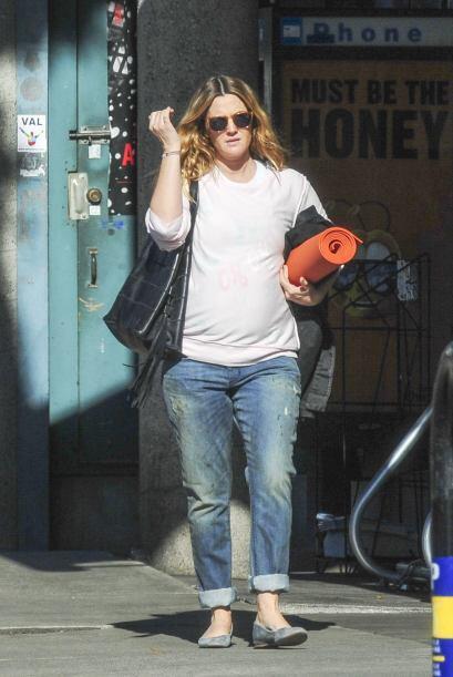 Drew Barrymore ya nos tiene acostumbrados a sus 'fachitas' en día...