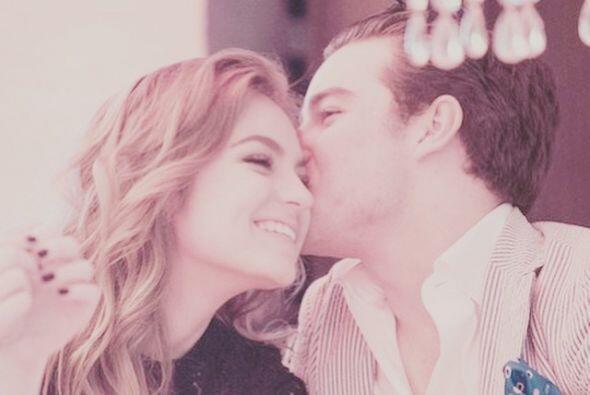 El afortunado es Jorge Álvarez. Esta par ya habían estado juntos hace un...