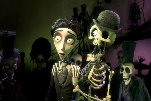 5. El cadáver de la novia.  Tim Burton es un experto en el 'terror', en...