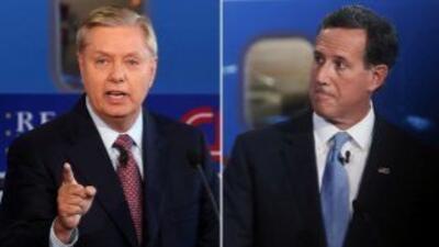 Graham y Santorum discuten por tema migratorio
