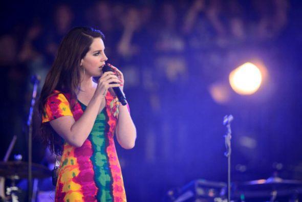 Lana Del Rey actuó en el Amway Center de Orlando, y Michael Hunt fue arr...