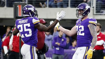 Vikings superan fácilmente a Bengals y amarran título divisional en la NFC