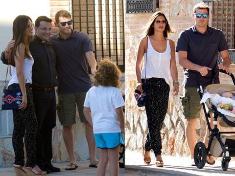 Iker Casillas, Sara Carbonero y su hijo Martín, estuvieron unos d...