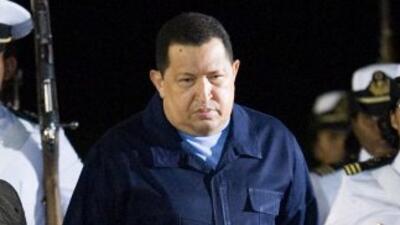 Chávez fue sometido en Cuba ala primera fase de radioterapia para trata...