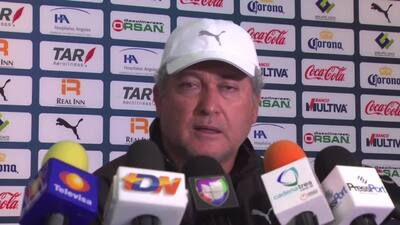 Víctor Manuel Vucetich tiene confianza en el repunte del Querétaro