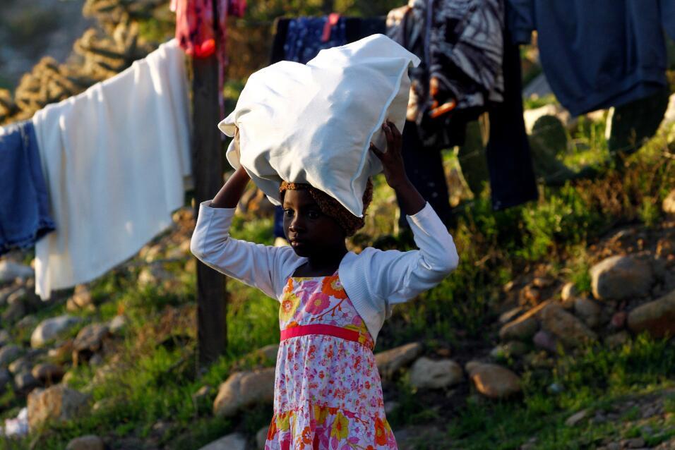 Haitianos en la frontera 1