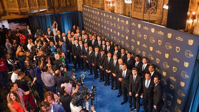 En fotos: así llegaron los invitados especiales a la entrega del Balón de Oro