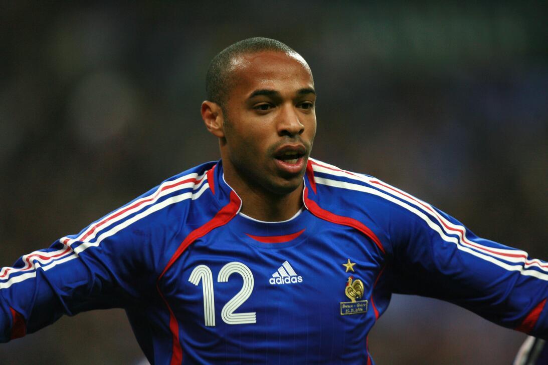 Thierry Henry (Retirado) - El crack francés es ídolo del Arsenal y la se...