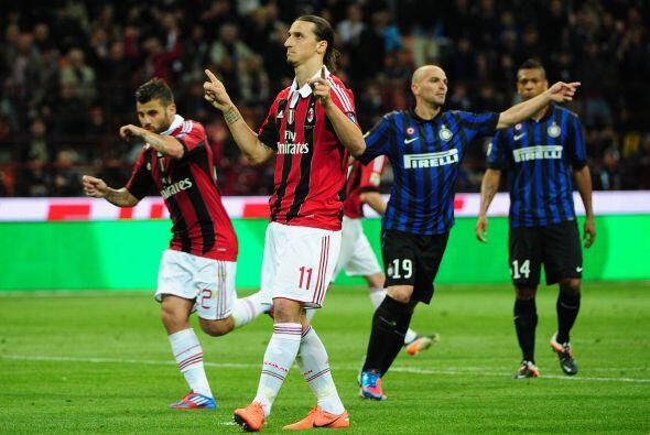 Pero las amistades no importan dentro del campo y Zlatan volvió a marcar...