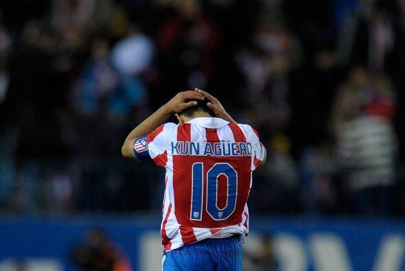 Apenas un par de días después, el 'Kun' anunció que dejaría al Atlético...