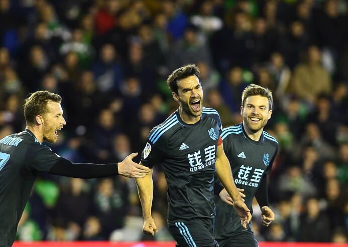 En fotos: la Real Sociedad sacó un valioso triunfo en condición de visit...