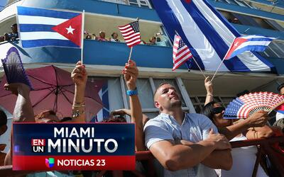 'Miami en un Minuto': residentes se reunieron puntos clave de Miami para...