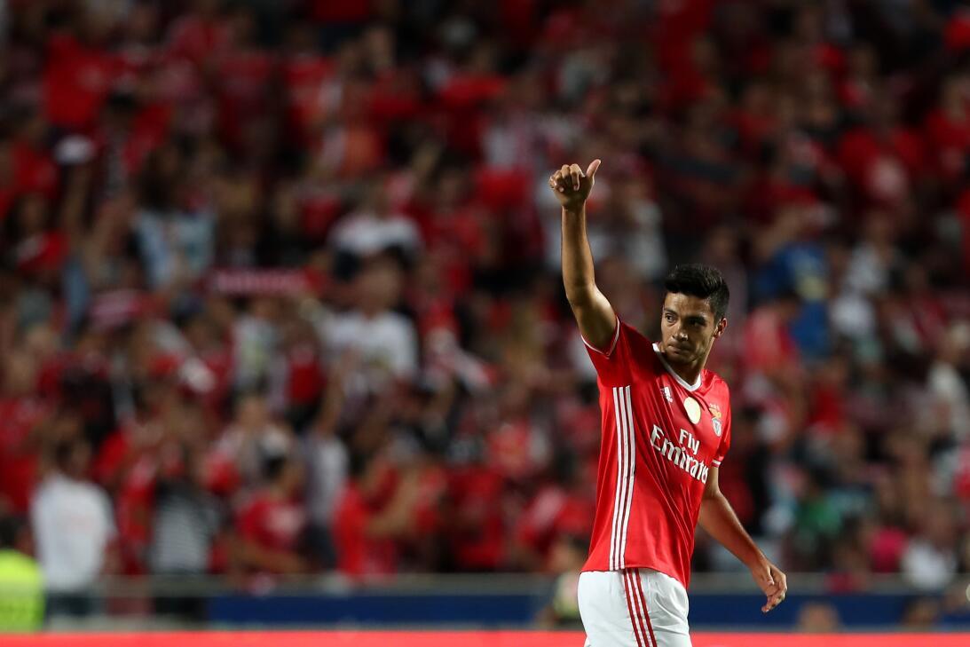 La situación de Raúl Jiménez lo encamina a dejar el Benfica la próxima t...