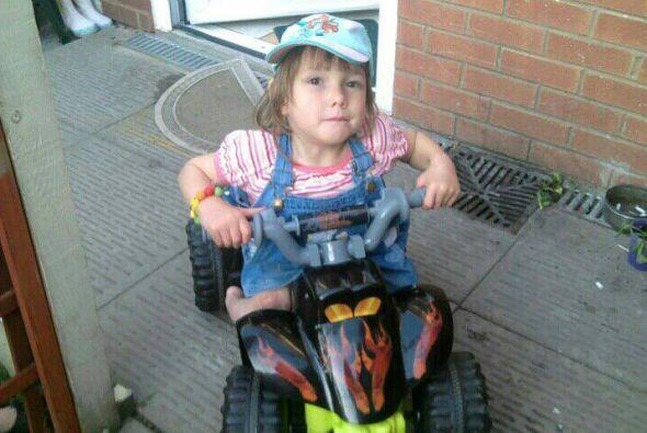 Y ahora, demostró que su discapacidad no la ha frenado para hacer lo que...
