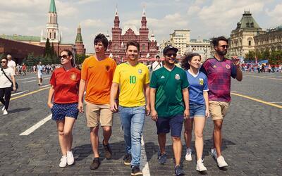 Bandera arcoiris escondida en Rusia 2018