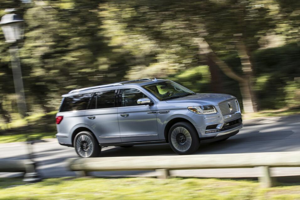 Nueva York 2017: La Lincoln Navigator 2018 hace a las SUV de lujo grande...