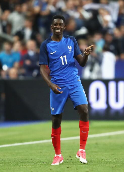 Ousmane Dembele - 20 años (Francia / F.C. Barcelona)