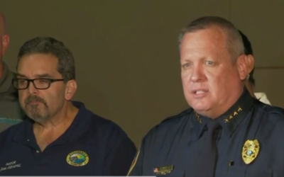 Jeffrey O'Dell, jefe de la policía de Kissimmee, en Florida, expl...