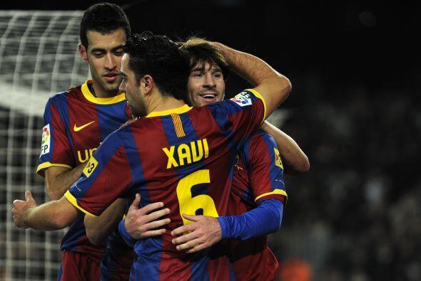 Barcelona sigue a paso firme, primero y goleando en la Liga. Fue 3 a 0 f...