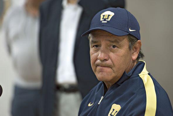 José Luis Trejo no se salva de ser candidato a la guillotina. El entrena...