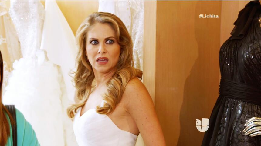 ¡Alicia ya tiene su vestido de novia!