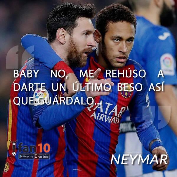 En memes: Neymar se inclina por los millones del PSG 20525369_1522945291...