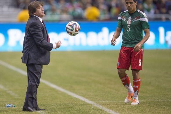 Opciones, fue la palabra clave para Herrera en este partido amistoso del...