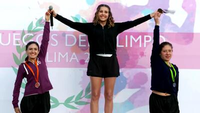 Victoria cumplió su sueño y se convirtió en una gran atleta profesional